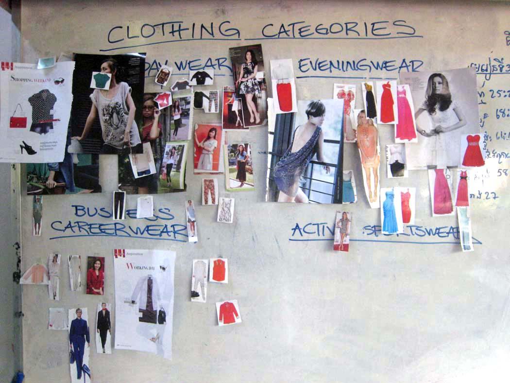 LHA/Park Hyatt Sewing School Clothing Categories Workshop