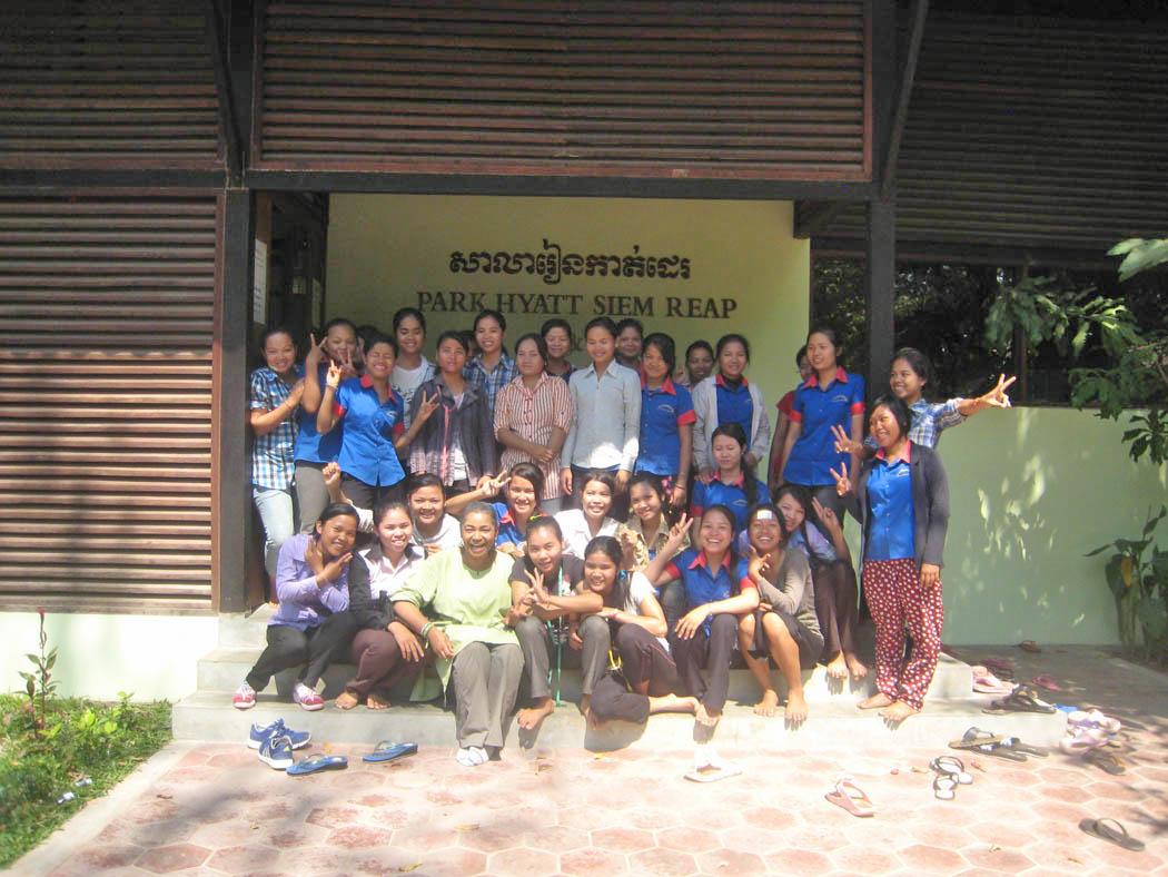 LHA/Park Hyatt Sewing School Students