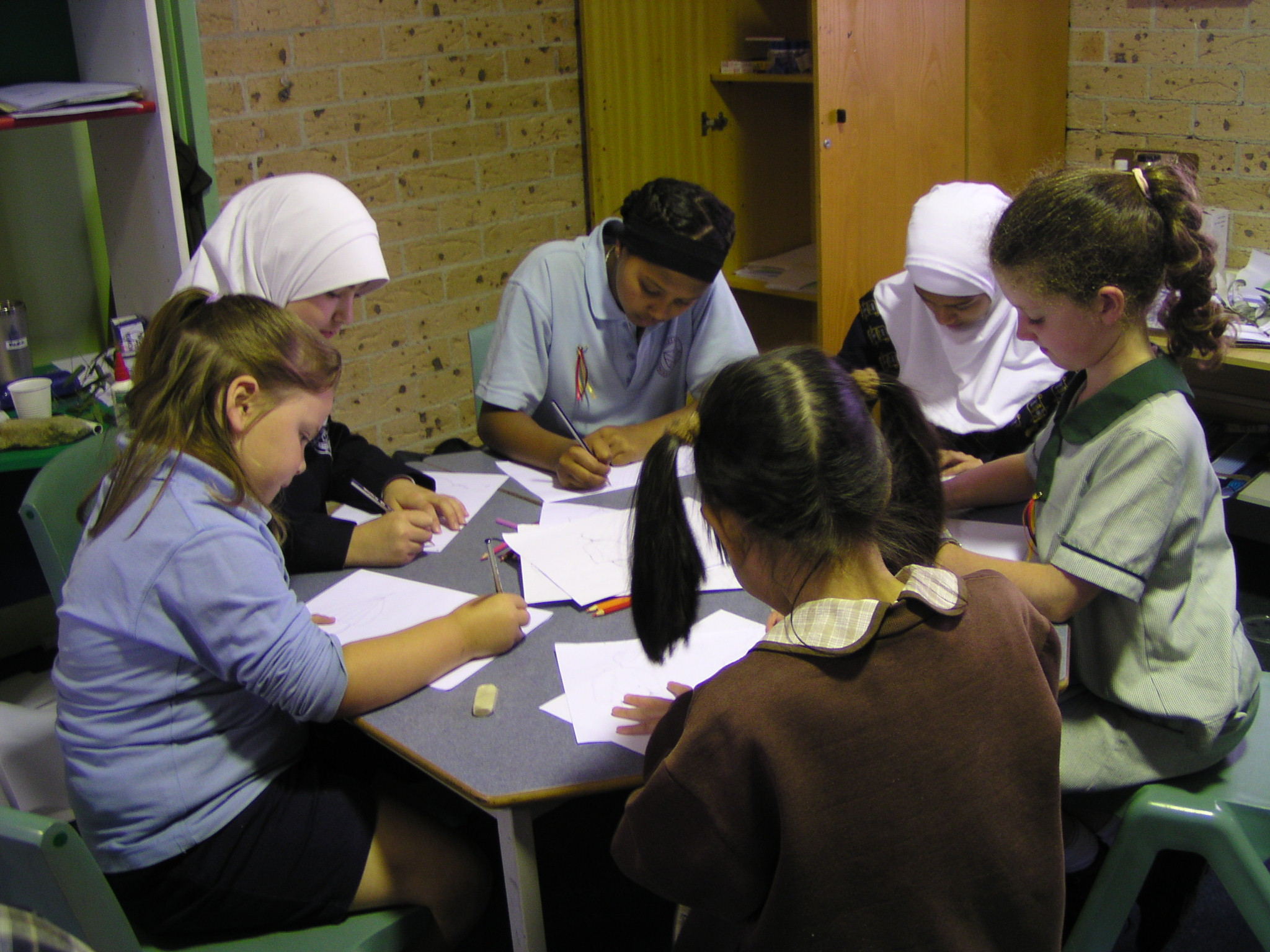 Workshops with primary students