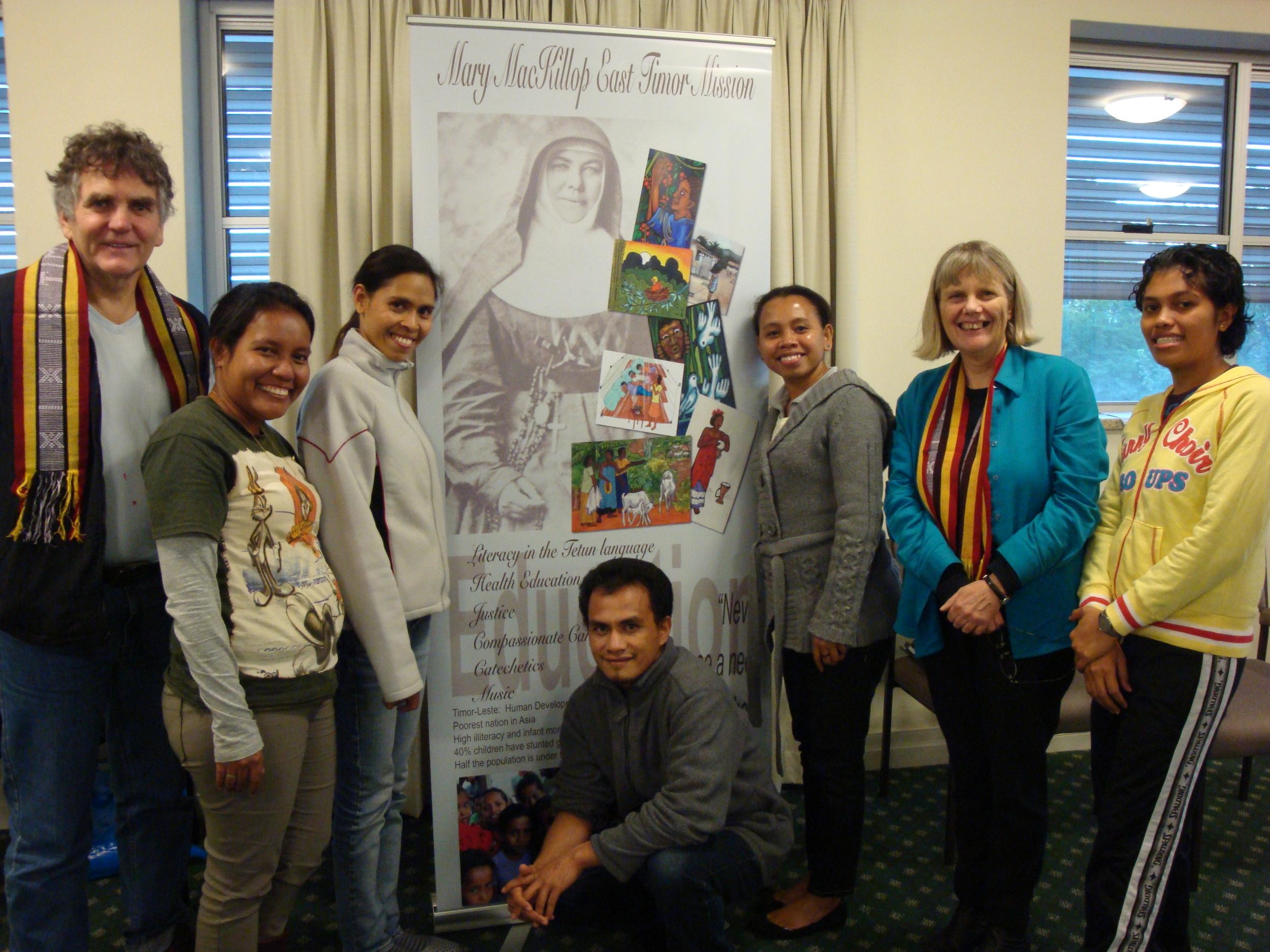 East Timorese workshop participants