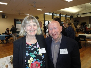 With Maurice Saxby at IBBY event