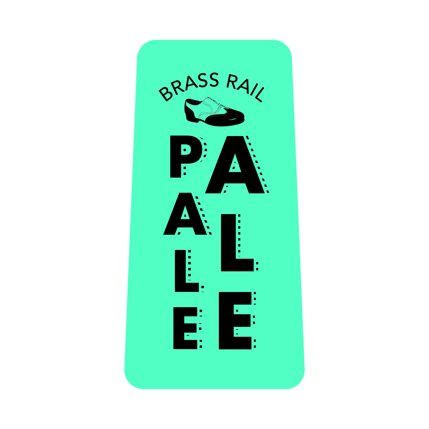 - BRASS RAIL PALE ALE - 5.5% ABV, 39 IBU's; American Pale Ale; Brass Rail Pale Ale pays homage to the West Coast and the beers that started the Craft Beer Movement.  Made exclusively with 'C' hops and 5 malts, this American Pale will make you want to say, 'Yes, I would like to put my foot on the rail and blow the foam off some suds!'