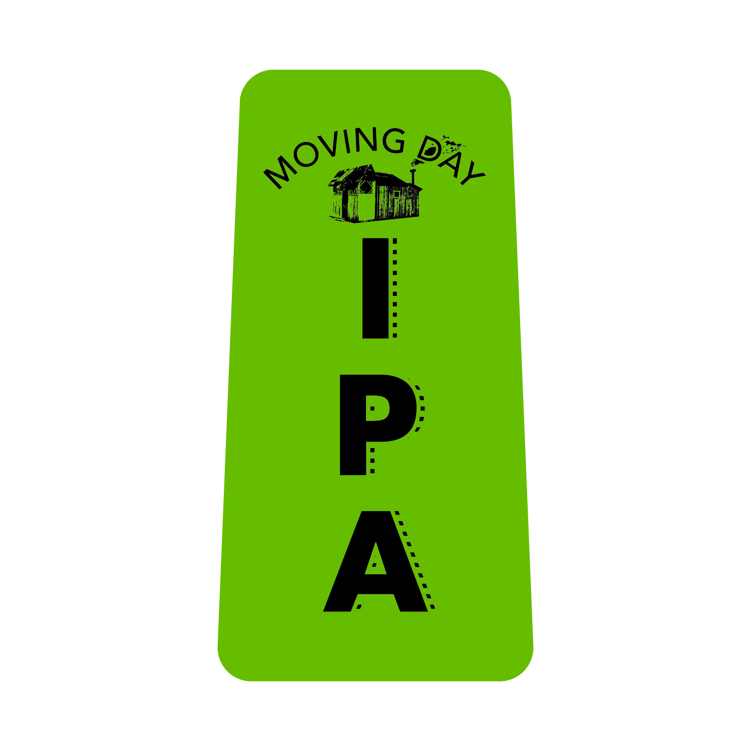 - MOVING DAY IPA - 6.4% ABV, 55 IBU's; India Pale Ale; Moving Day IPA is packed with resinous/citrus/tropical flavors and aromas thanks to 4 different hop varieties and is balanced by its solid malt bill featuring Munich and Crystal malts.