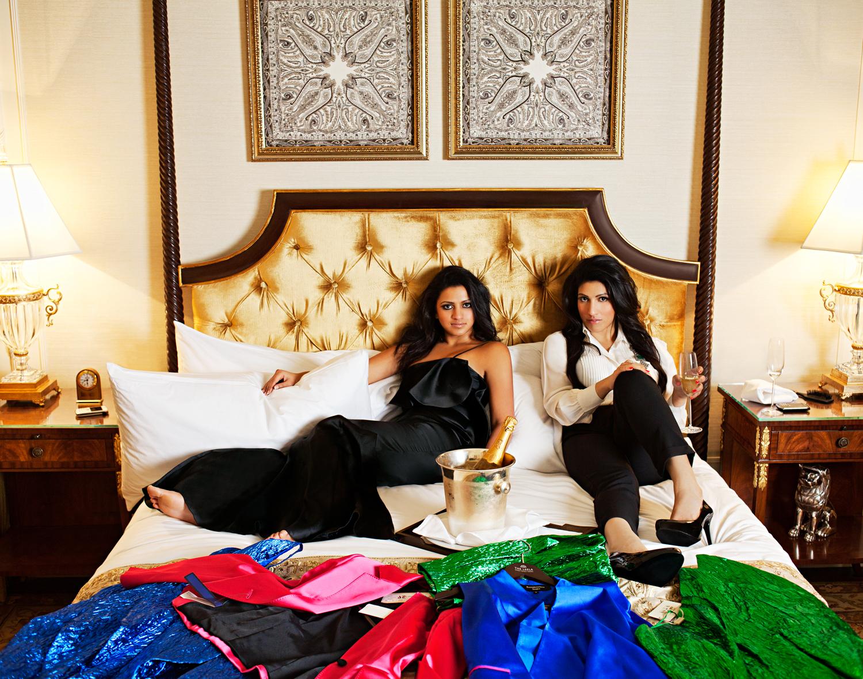Amruda Nair and Aishwarya Nair, owners, the Leela Group   Harper's Bazaar India
