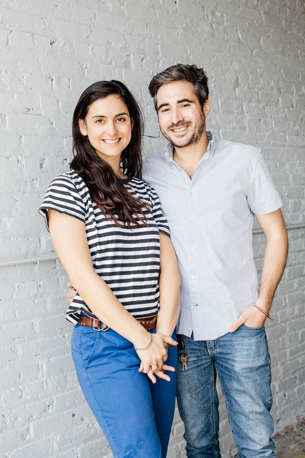 Kimmee Arndt and Evan Hoffman, owners, Greenpoint Trading Co.