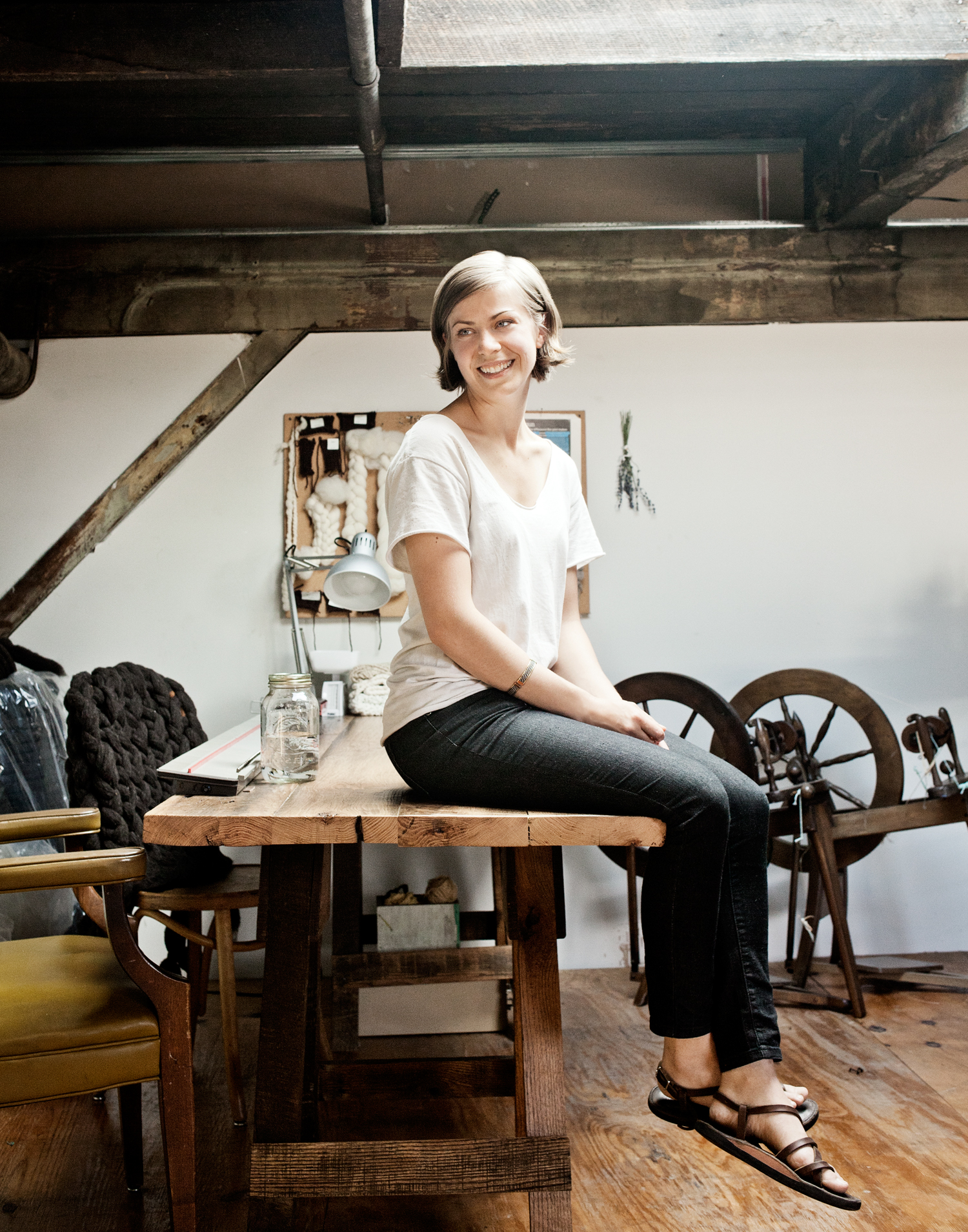 Han Starnes, knitwear designer, Josi Faye
