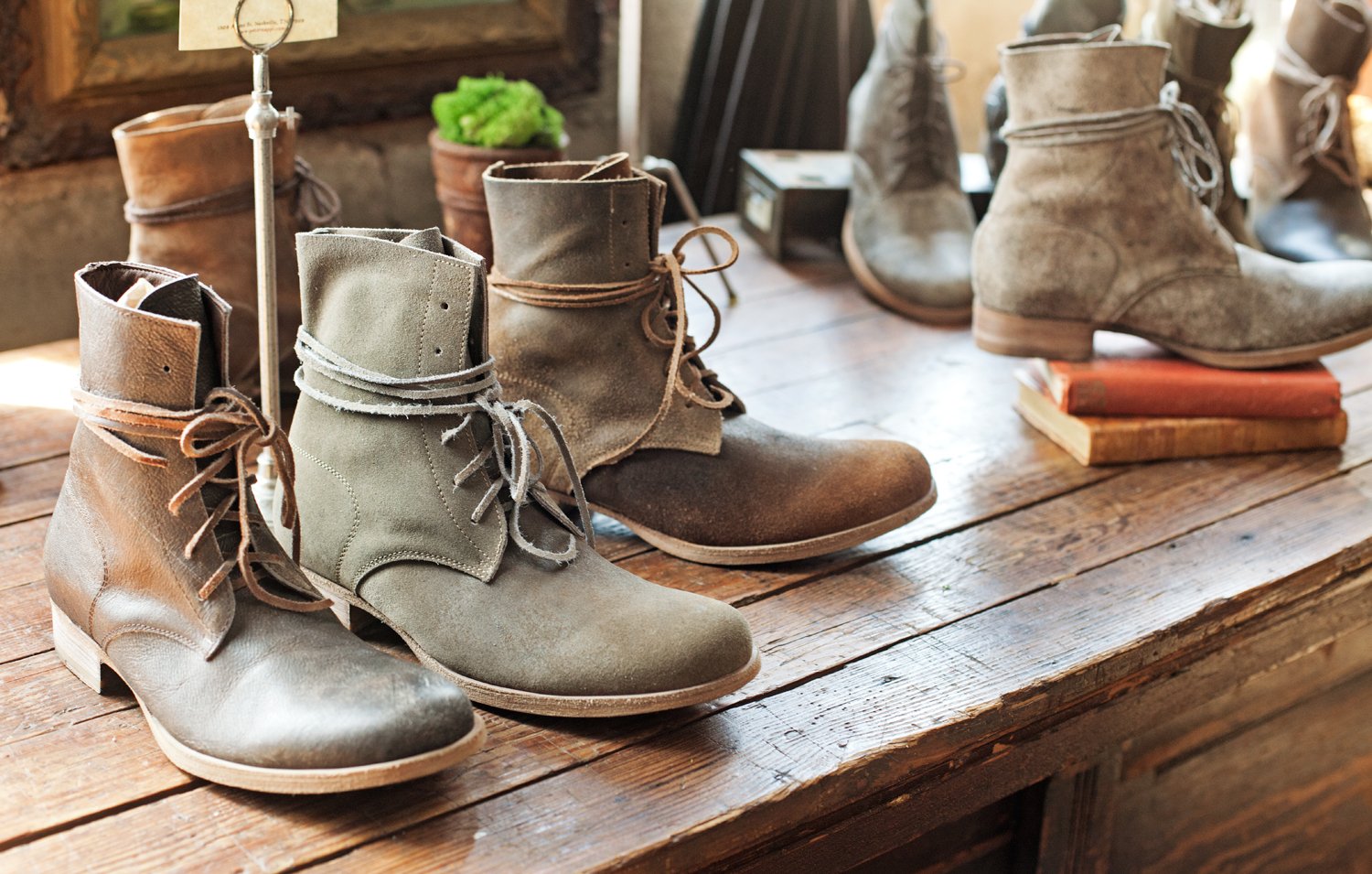 Peter Nappi creates hand-crafted, limited-run leather boots by artisans in Italy.