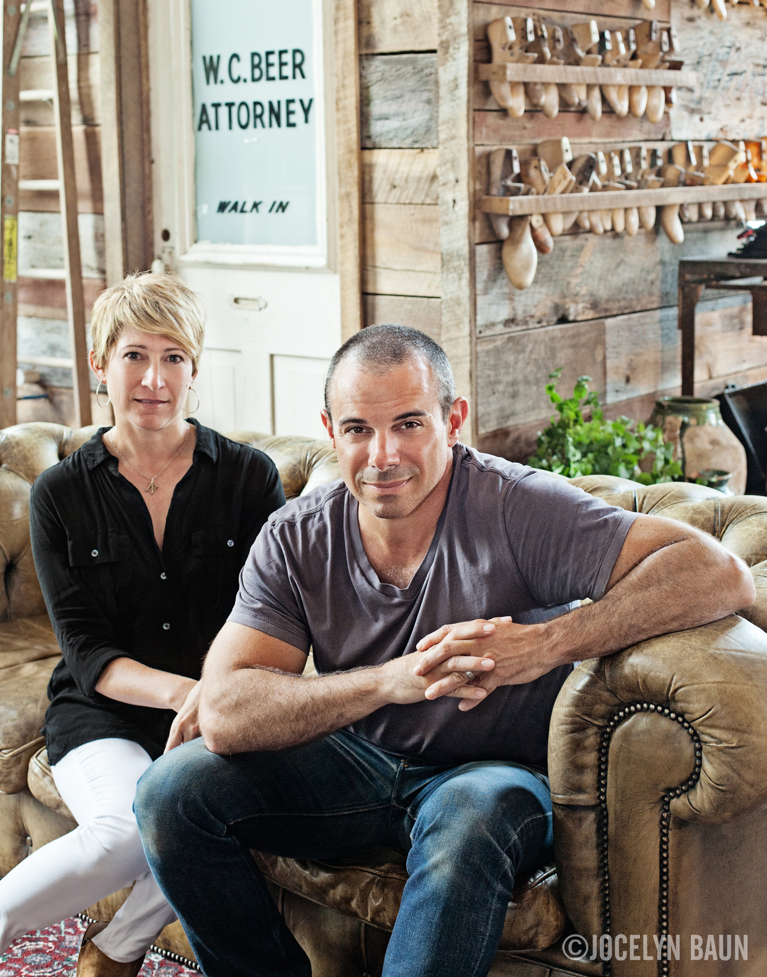 Dana and Phillip Nappi, owners of Peter Nappi.