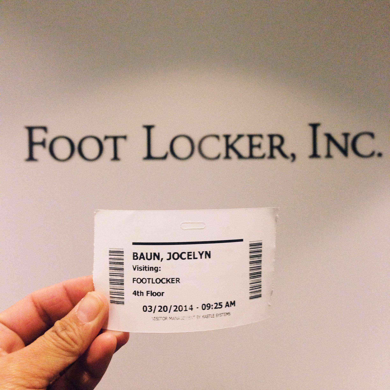 Aw yeah! Shooting at Foot Locker HQ!