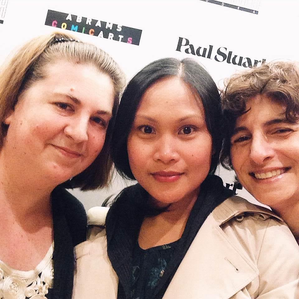 Photo editors Laurie Green, Daniella Nilva-Cunnighman and I