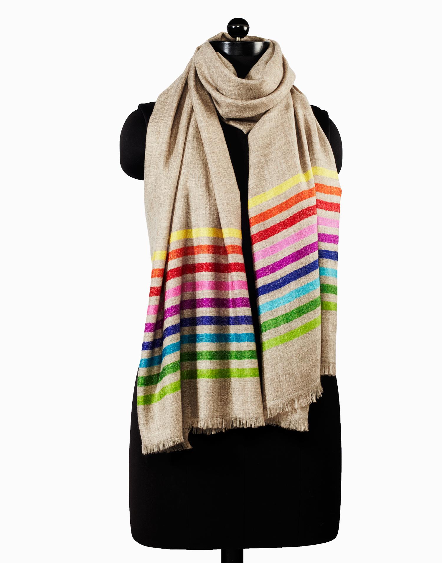 Rainbow Palla, Kashmir Loom catalog
