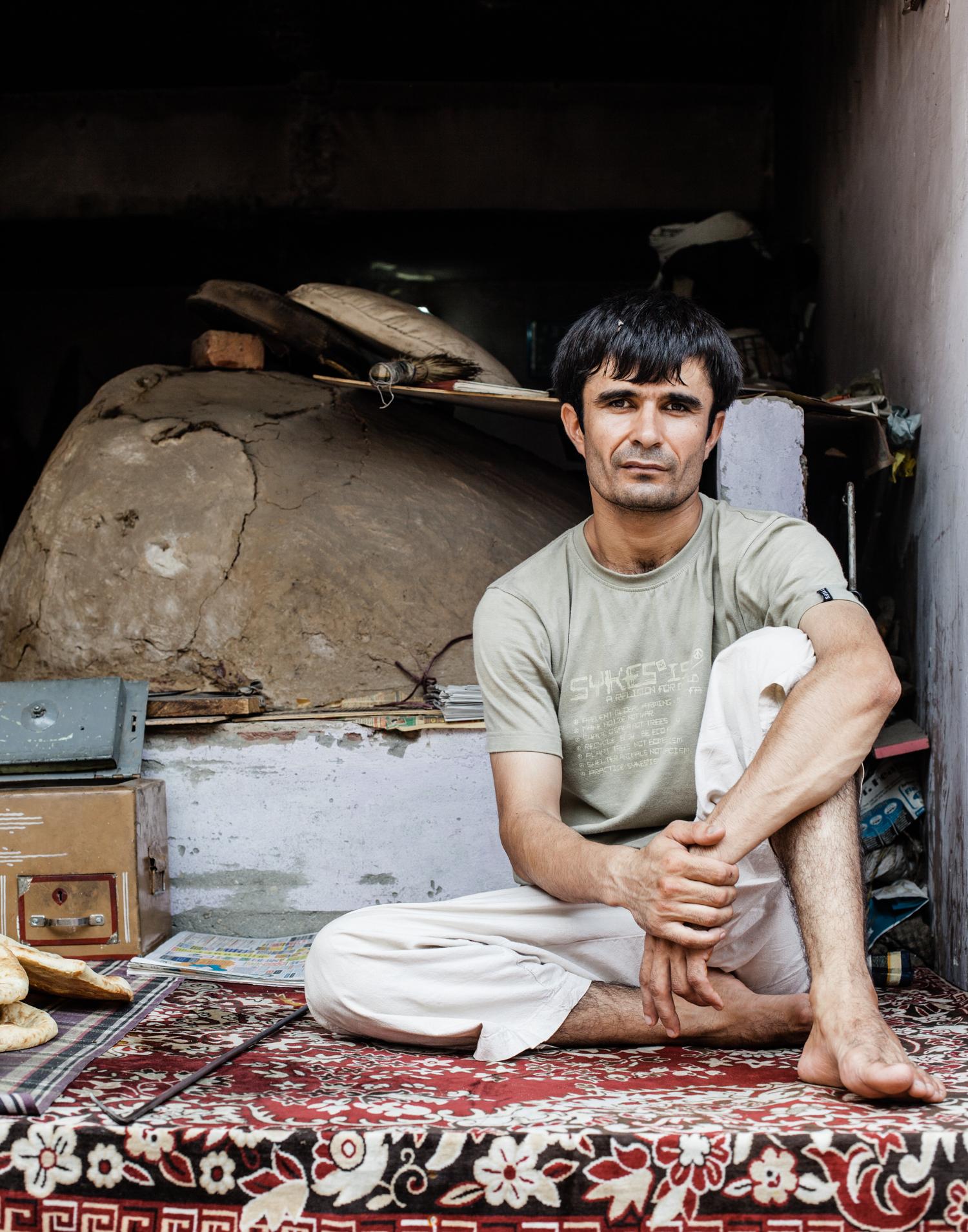 Jangpura Bhogal, New Delhi - One of the owners of Bhogal's Afghan bakery.  Mint, a business daily newspaper