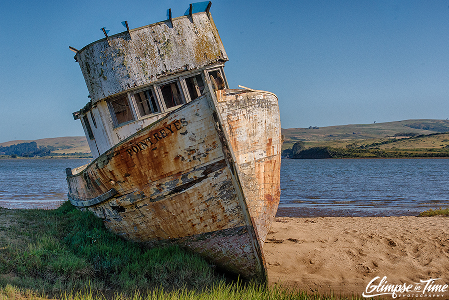 Boat in Point Reyes