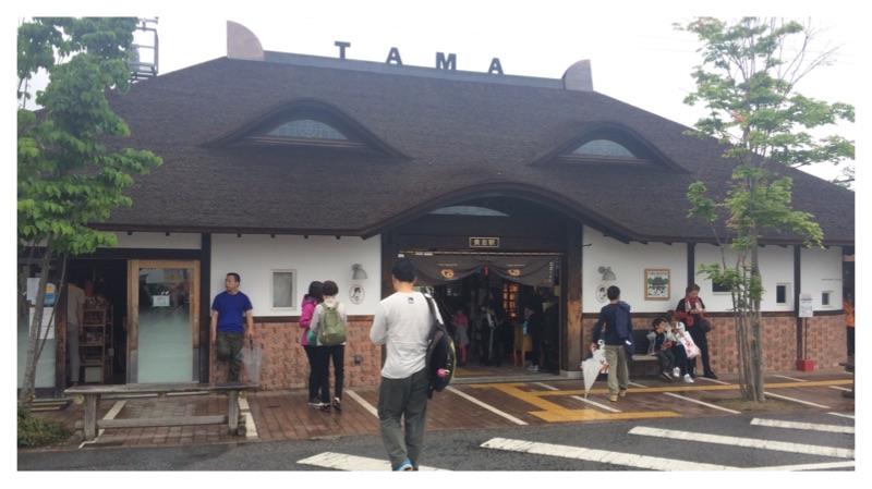Kishi Station is shaped like a cat.