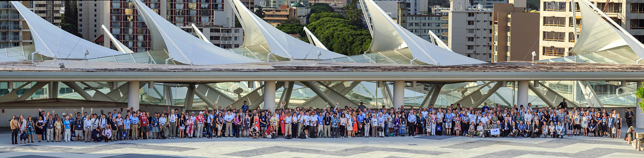 IAU conference finale photograph