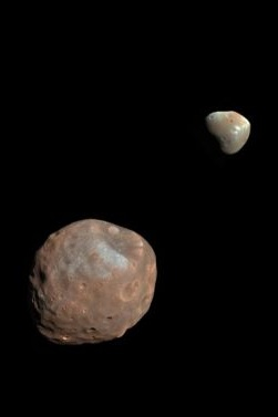 Phobos and Deimos: Captured Asteroids or Cut From Ancient Mars?