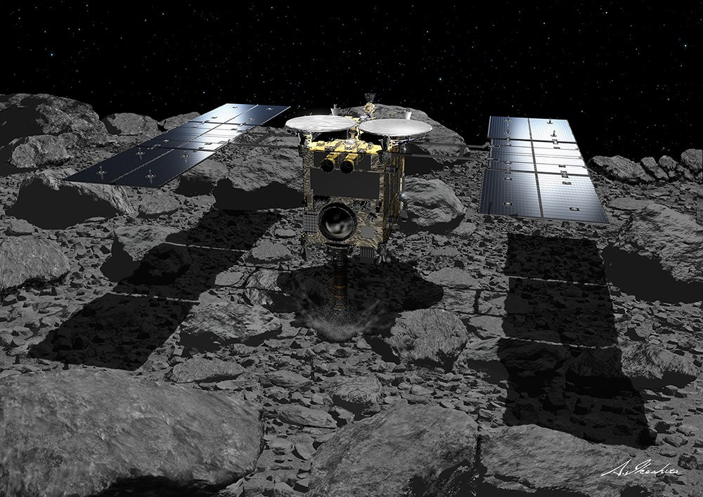 Hayabusa2 Snatches Second Asteroid Sample