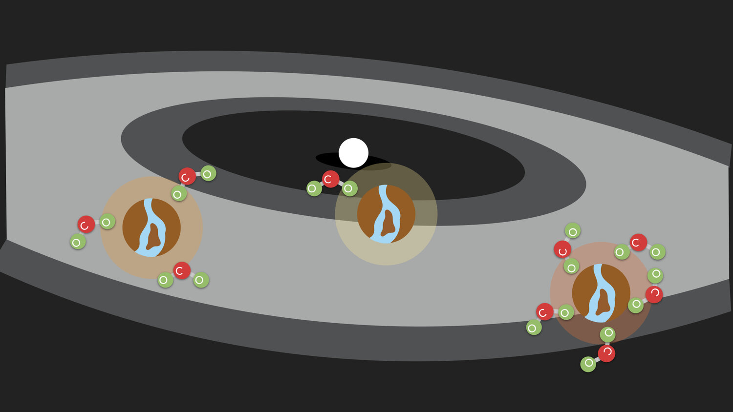 Within the habitable zone, the Earth can adjust the level of carbon dioxide in the atmosphere to keep surface conditions comfortable.