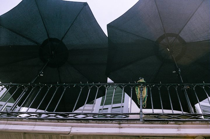 Umbrellas and Beads New Orleans