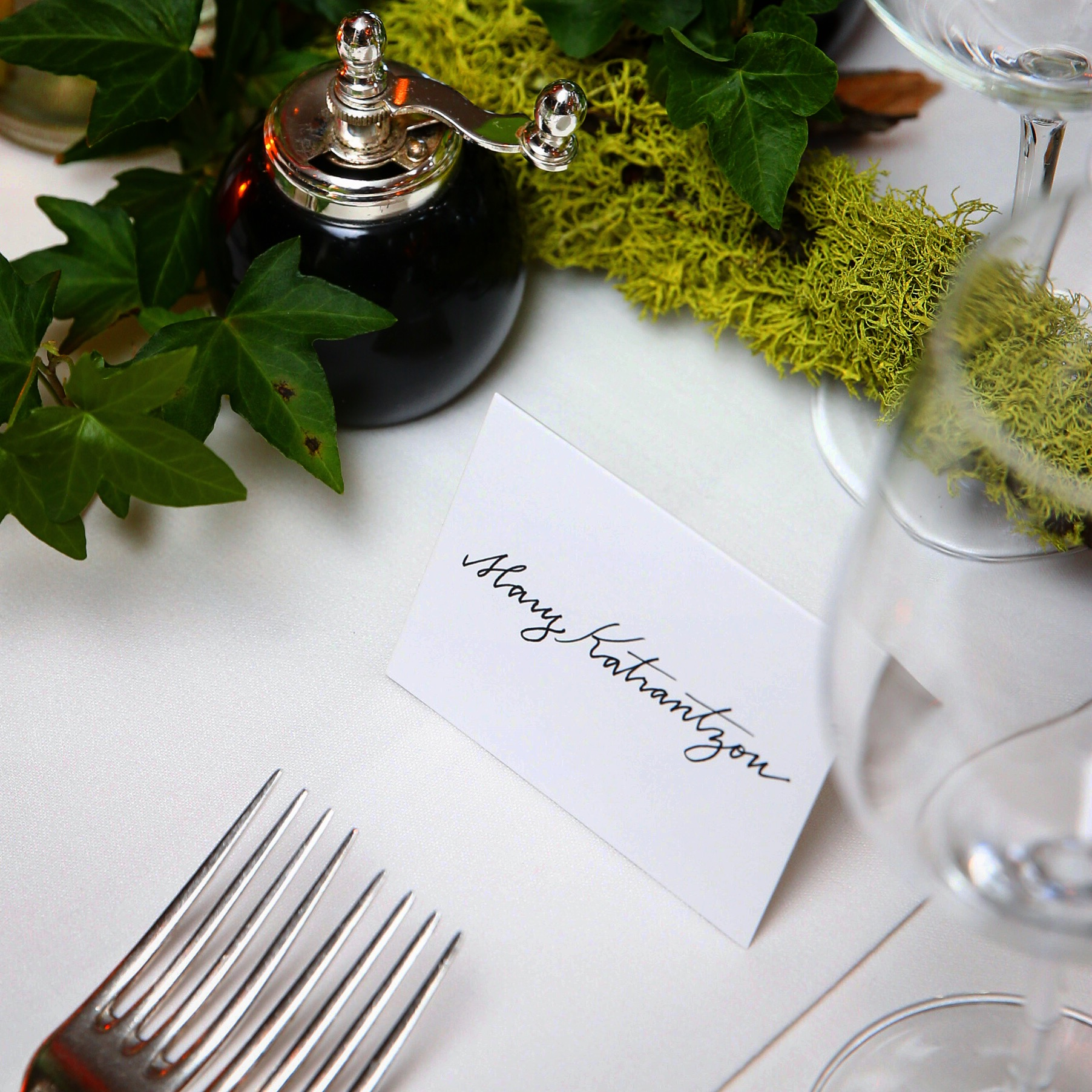 Mary Katranzou Placecards