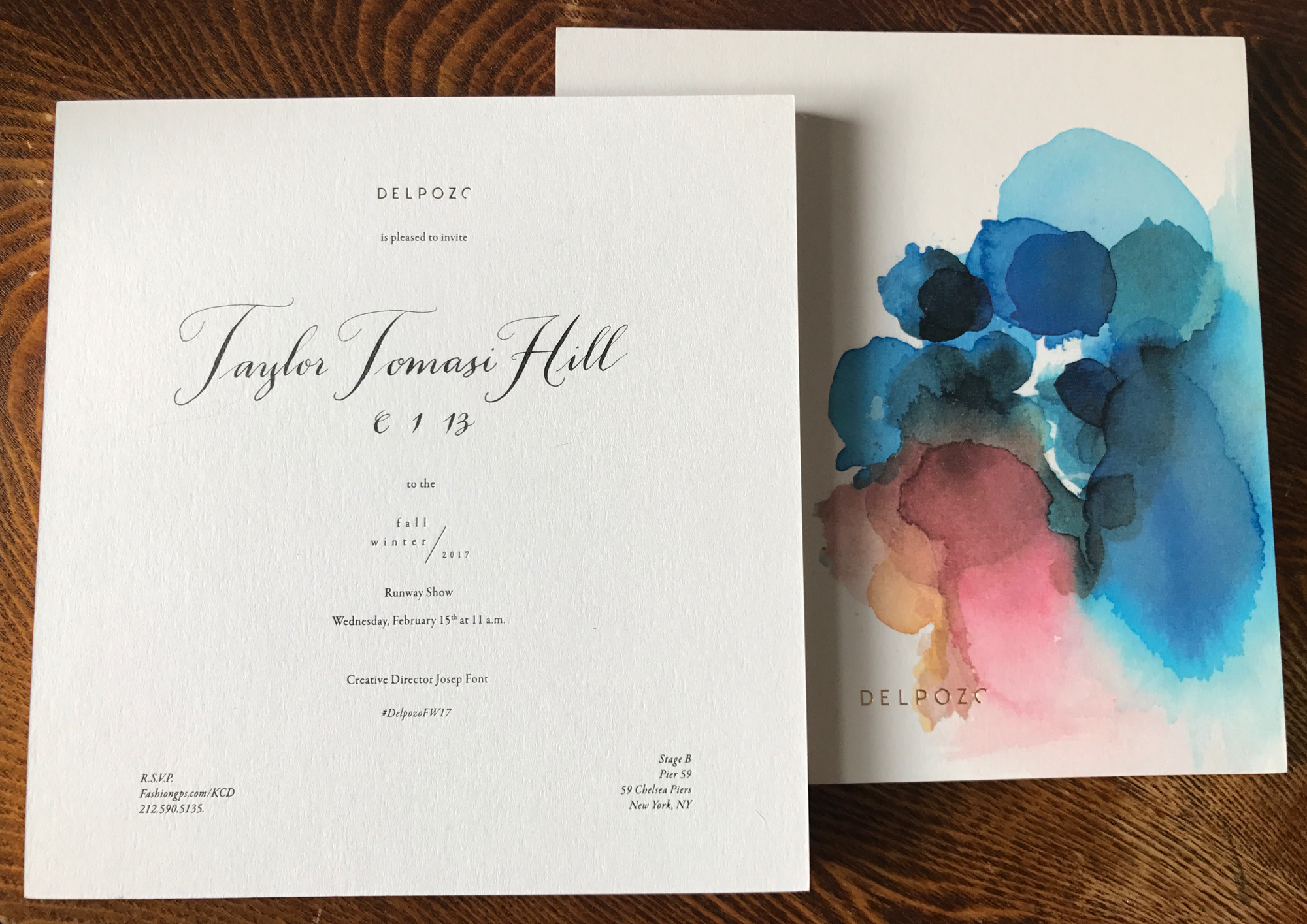 Delpozo Invitation