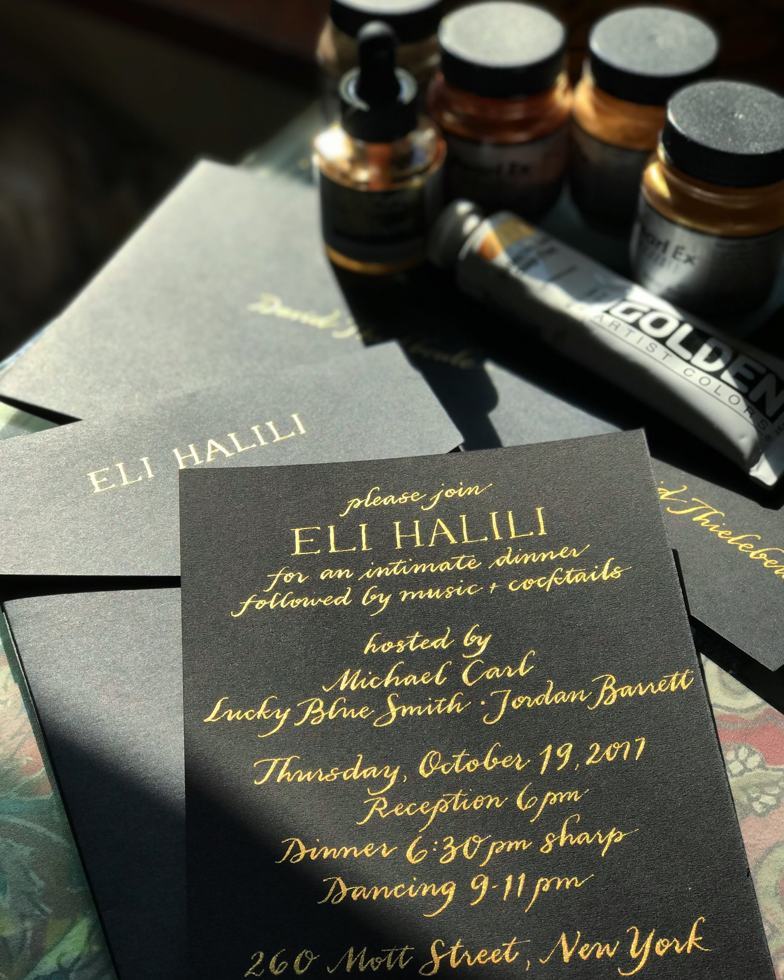Eli Halili Invitation Suite