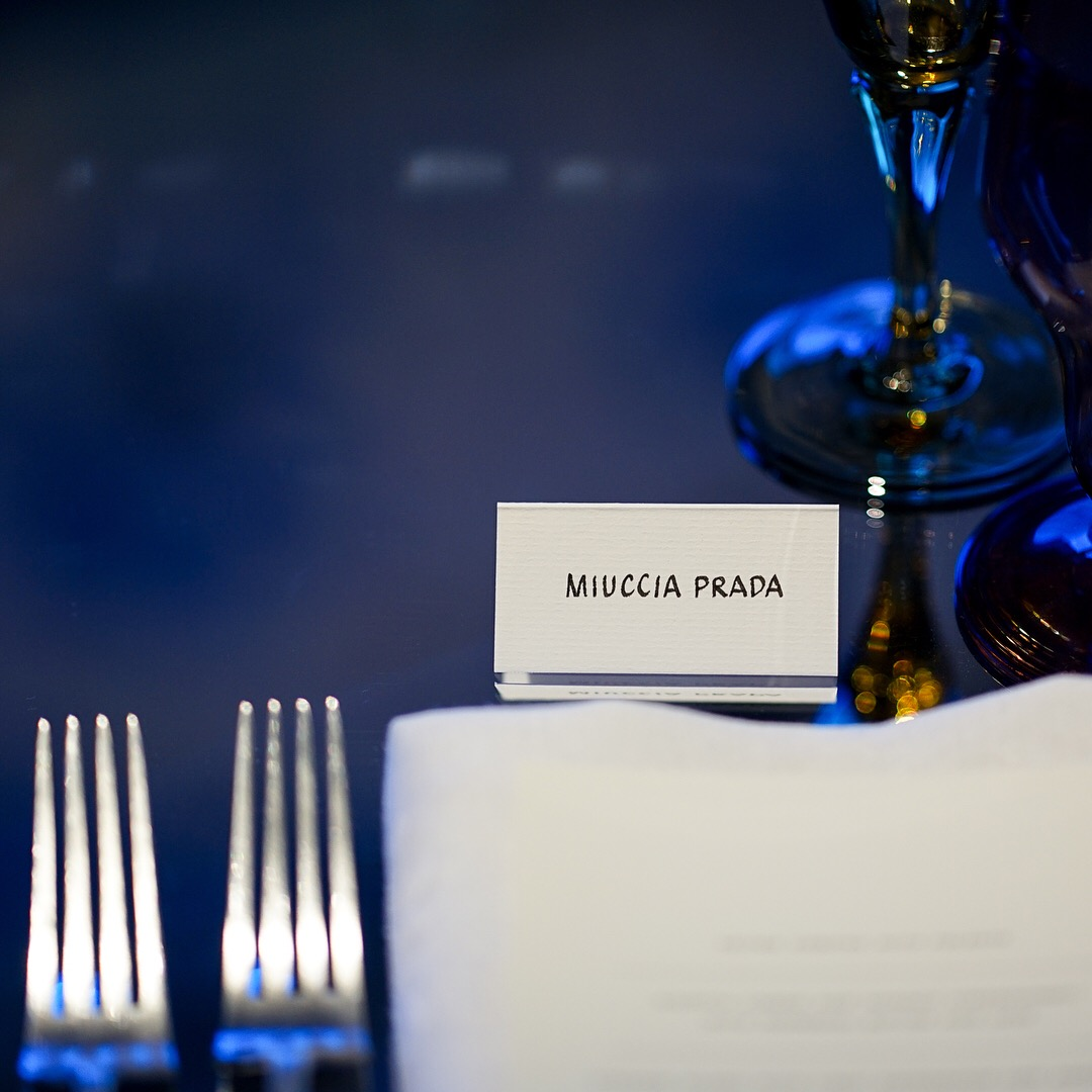 Prada Dinner Place Cards