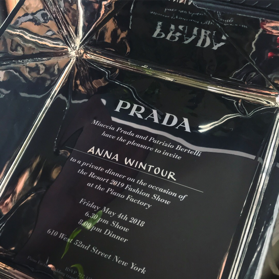 Prada Invitation