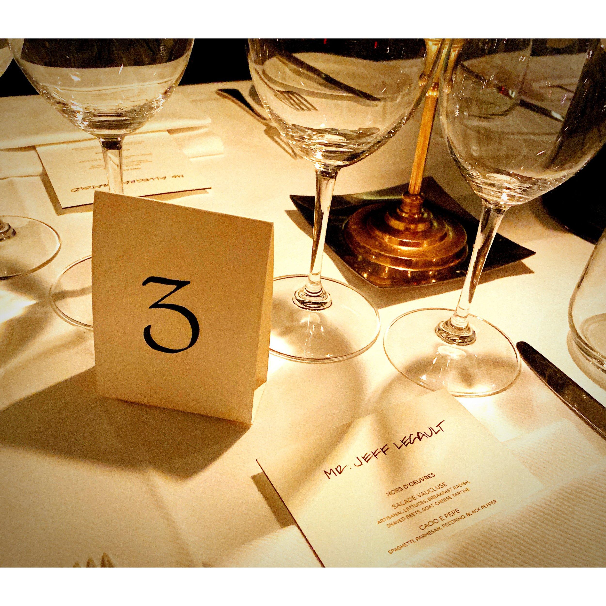 Tom Ford VIP Dinner