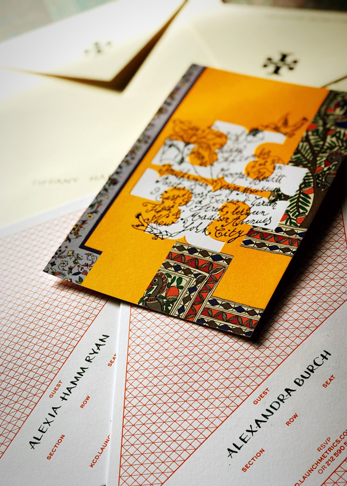Tory Burch SS19 Invitation