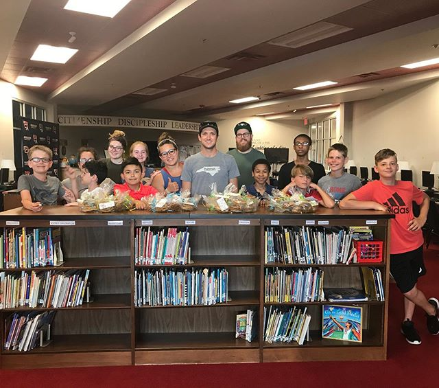 Some of our awesome youth made almost 70 bags of cookies for the faculty and staff at FCA!