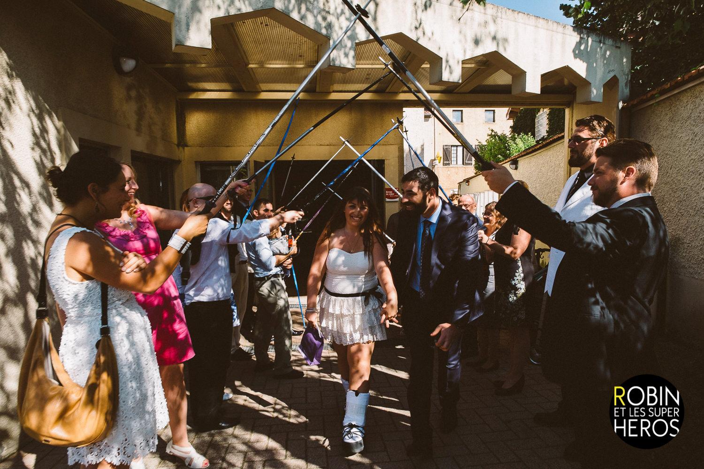 La palmeraie de la tour ; mariage rock roll cool lyon