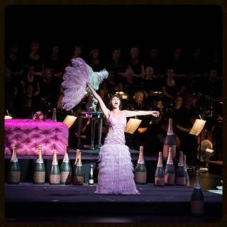 Violetta    La traviata   Wolf Trap Opera with National Symphony Orchestra July 2013   Read reviews >