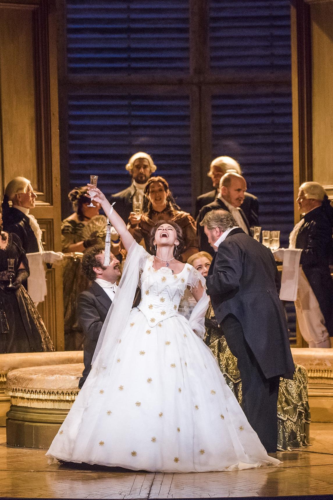 Violetta, La traviata    Theater Basel  October 21, 28; November 1, 3 2017   new production; house debut