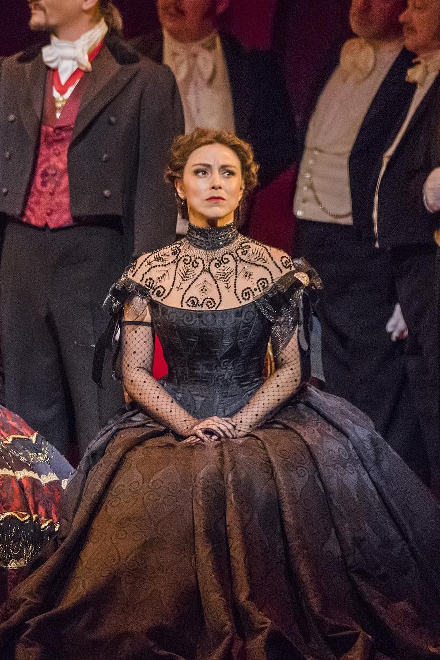 Violetta, La traviata  Opera Australia  April 17, 21, 23, 28, 30; May 2, 4, 8, 11 2018    house debut