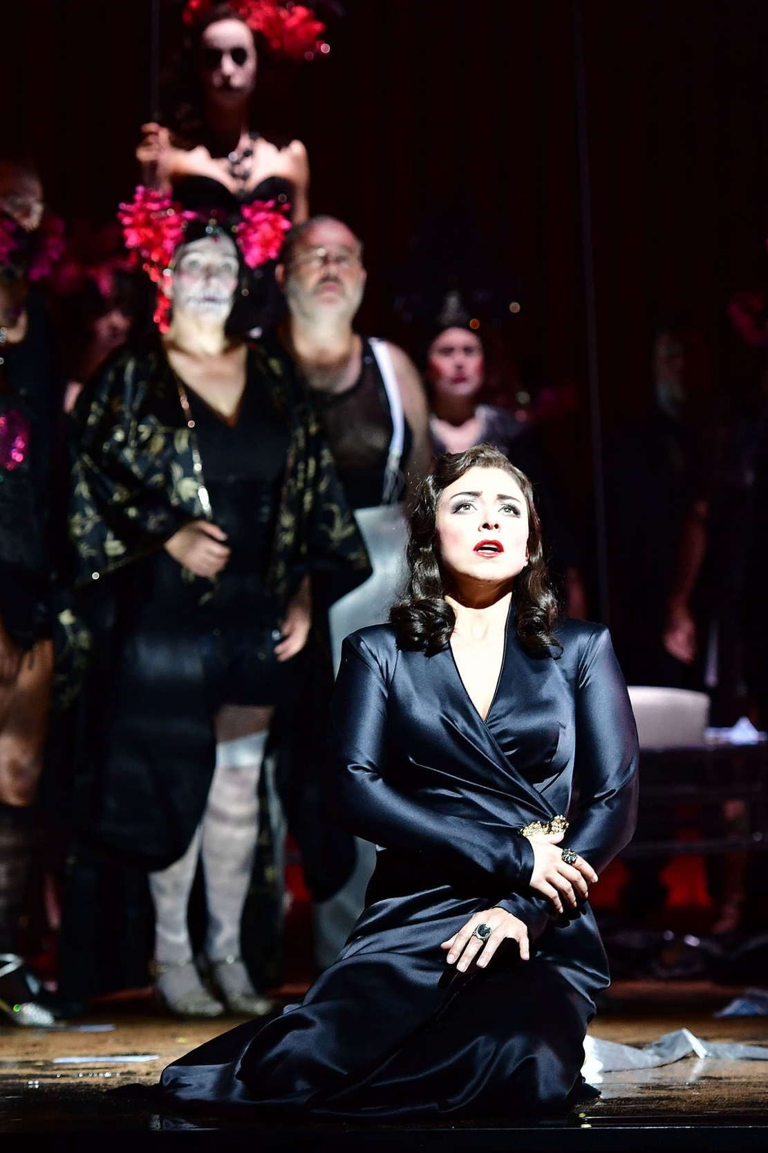 Violetta, La traviata    Theater Basel  January 29; February 4, 9, 17, 25 2018   new production
