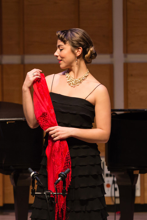 Recitalist,  García Lorca: Muse and Magician   New York Festival of Song  April 24 2019