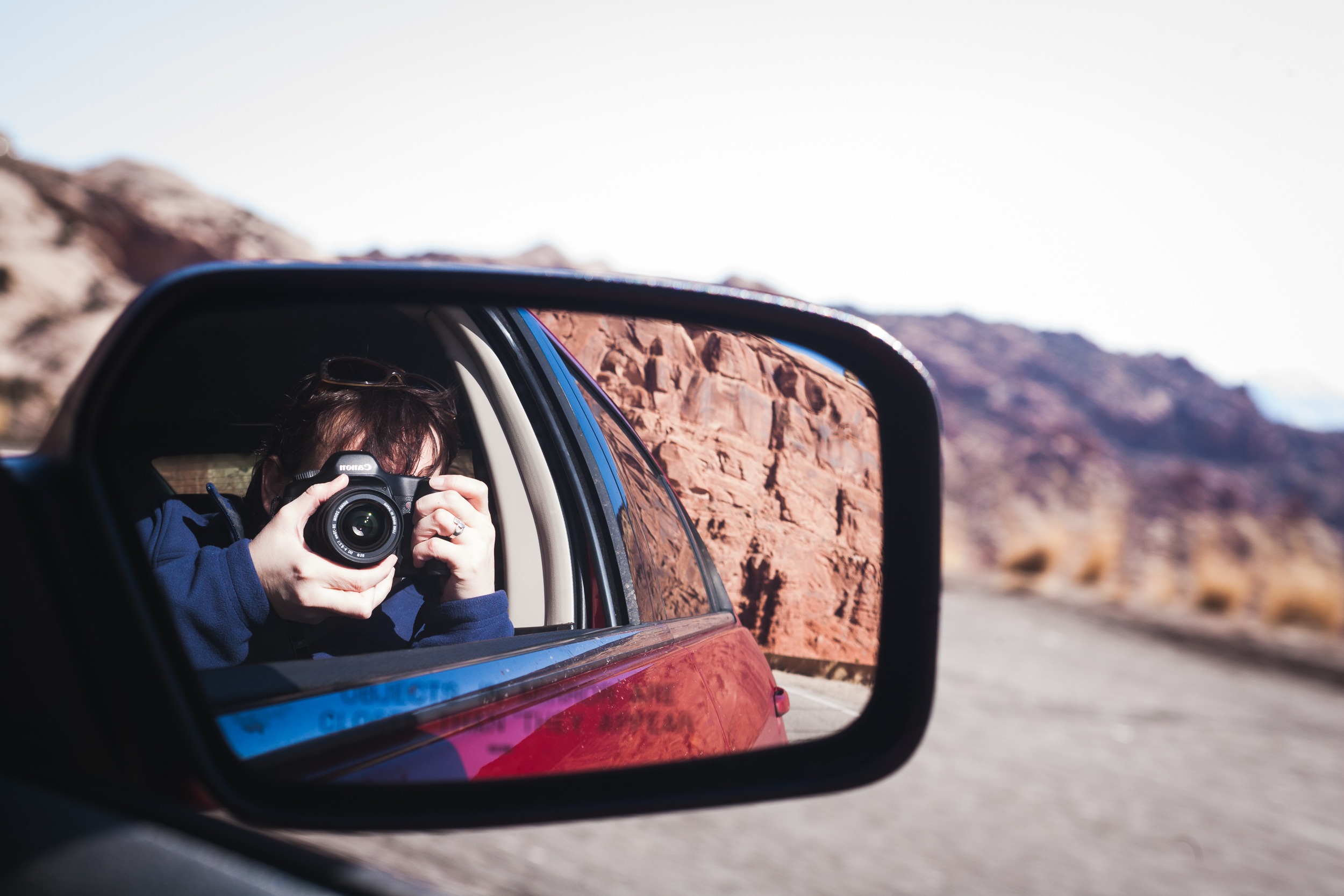 Self-portrait - Arches National Park, Utah