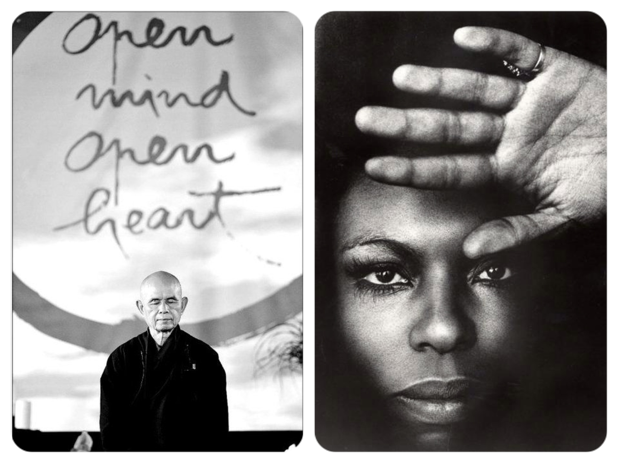 What's wrong with a little Zen and R&B? Zen Master Thich Nhat Hann & Soul Songstress Roberta Flack - a rare combo