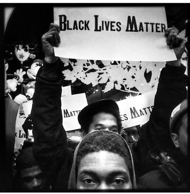 """Photo Credit: @ Ruddy Roye, December 7, 2014. I Can't Breath l A Series. Rudy Roye is an amazing Brooklyn-based """"Instagram Humanist/Activist."""" Check his work out!"""
