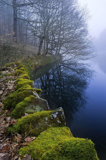 inacre Reservoir, Peak District, England (by William6201)Photo credit: TravelingColors
