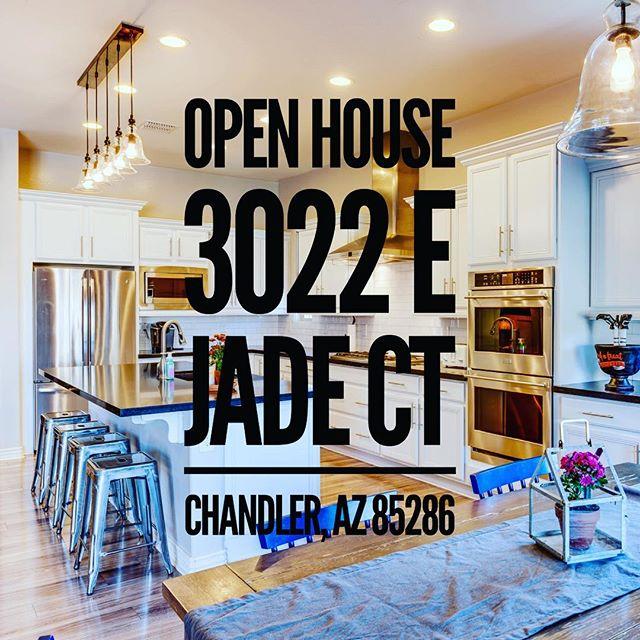 Attn: #arizona Buyers 🌵  OPEN HOUSE Details    Friday 11/02 3-6pm & Saturday 12:30-3pm #chandler #laytonlakes #homeforsale 🌻