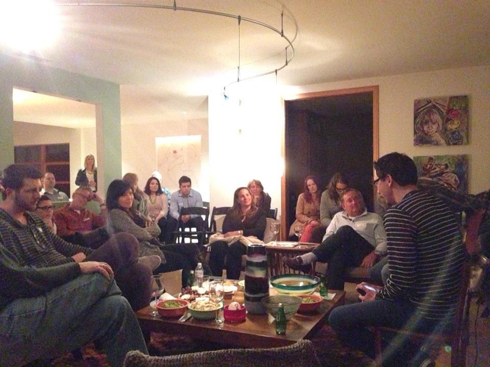Norm Stockton sharing at a Gathering