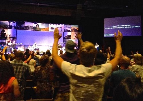 Worship Service at Bethel