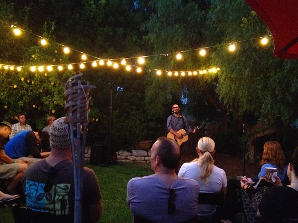 Tim Timmons sharing his heart at The Grove Gathering