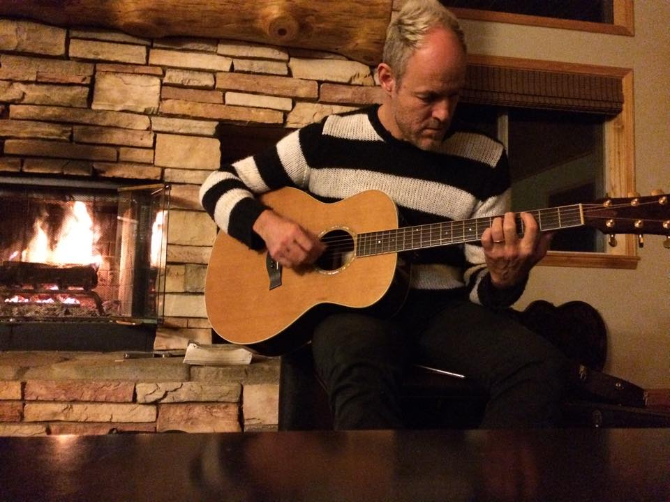 Mark Cullen sharing a song he wrote,