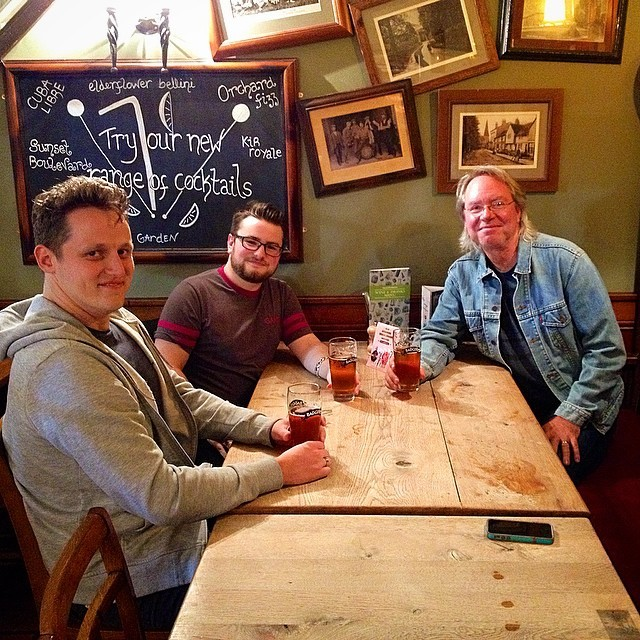 Visiting the Fellowship Halls of England . . . they call them Pubs