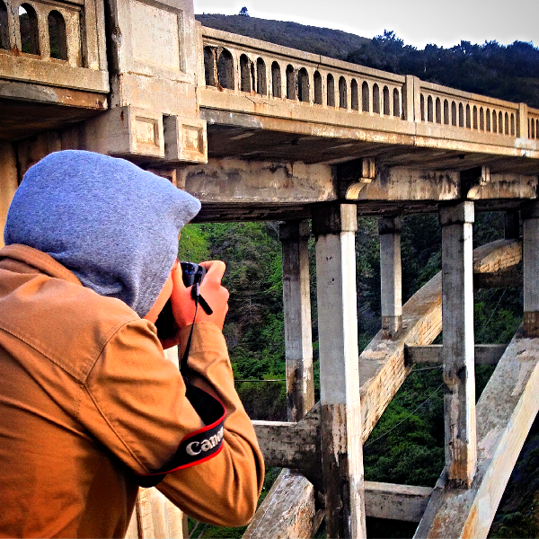 Bridge in Big Sur captured by Connor - see his image on instagram
