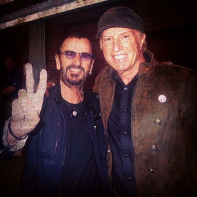 Producer, Singer, Songwriter   Paul Clark  , pictured here with a famous drummer has been a welcome part of our family for over 25 years. He continues to pour his heart into many artists all over the world as a mentor.