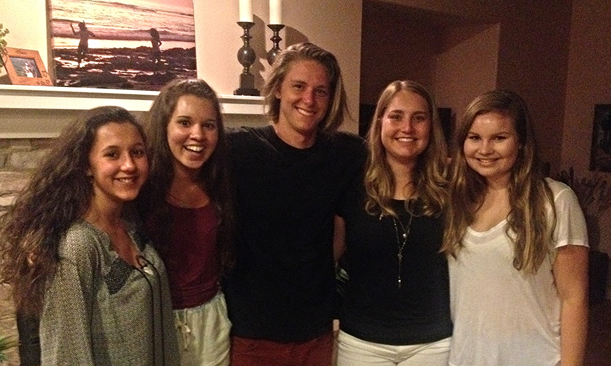 Trevor, the Reed girls and their best friends all experiencing God's love when we come together.